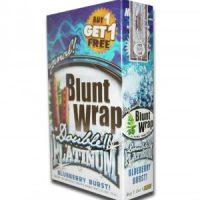 Blunt Wrap Platinum – Blueberry