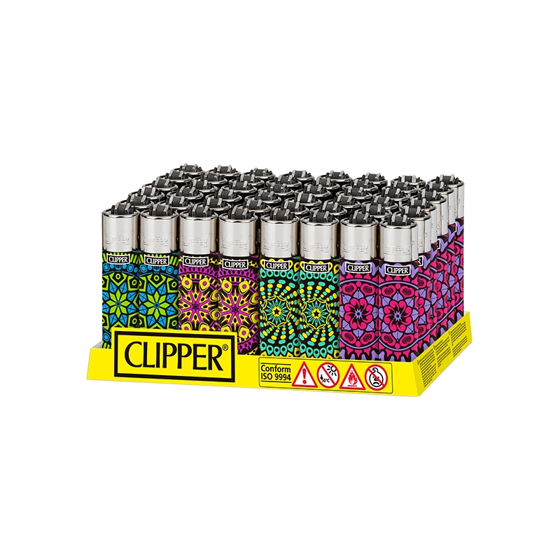 clipper print mandala
